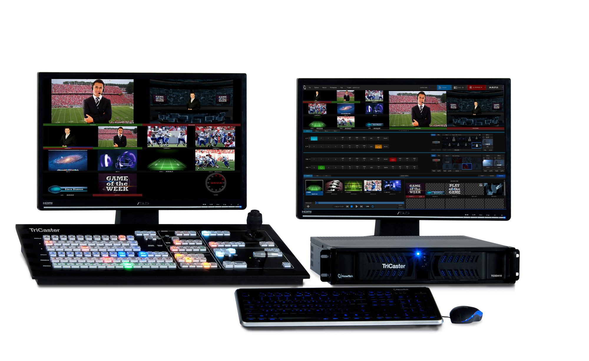 TriCaster 410 » Pacific Live Media